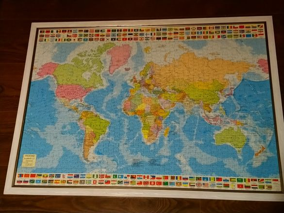 Пъзел - Карта на света