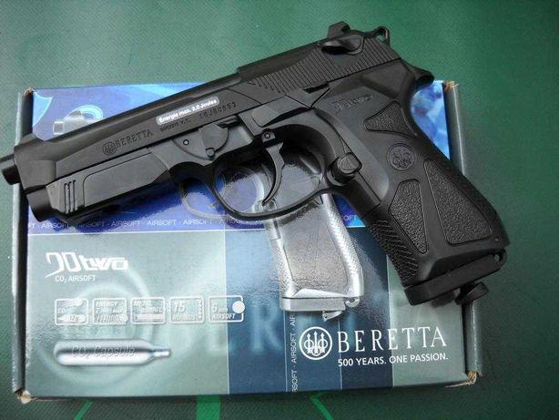 Pistol Airsoft Beretta 90TOW New Model USA 4,7j Bile+Co2