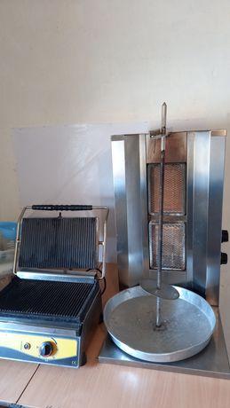 Доннер аппарат газовый  , тостер   электрический