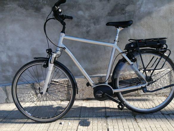 Електрически велосипед Hercules и Shimano steps