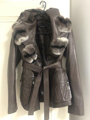 Новая кожаная куртка Ottimo