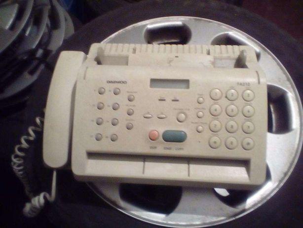 Vand telefon cu fax Daewoo termic adus Germania
