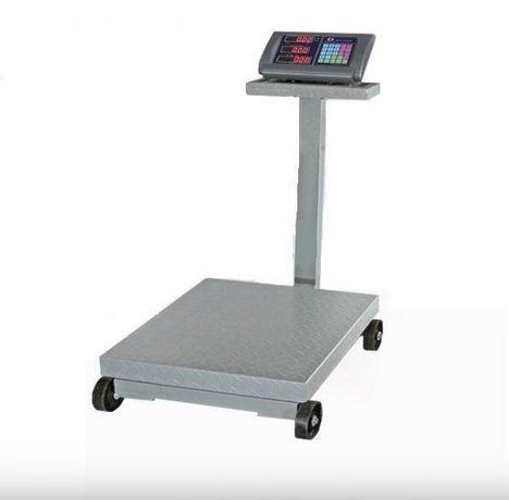 Cantar electronic cu platforma 1500kg tip liza cu roti Brat Rabatabil