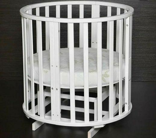 Кроватка для малышей с 0 до 3х лет 6 в 1