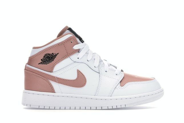 Air Jordan 1 Mid White Rose Gold marime 36