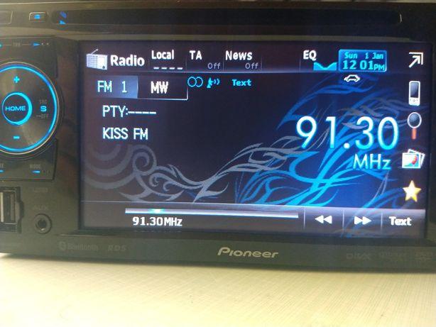 Pioneer model 2din cu usb, Bluetooth, model AVH2400BT