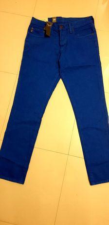 Jeans Abercrombie, noi, skinny, marimea 30x32