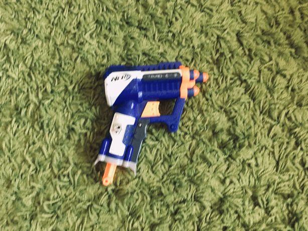 Pistol de jucarie Nerf Triad EX-3 cartuse