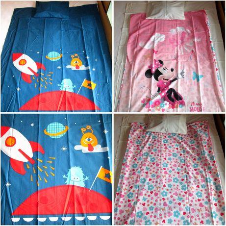 Бебешки спален комплект на ТАЧ - Мики Маус и Космос