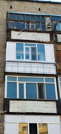 Балконы окна двери витражи