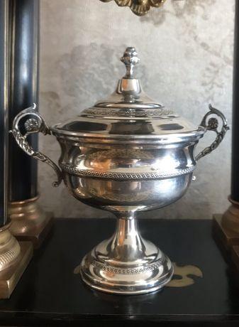 1577at Bomboniera din argint 800 baroc.