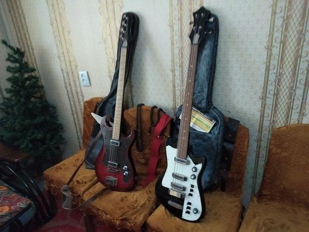 Электро гитары Басовые