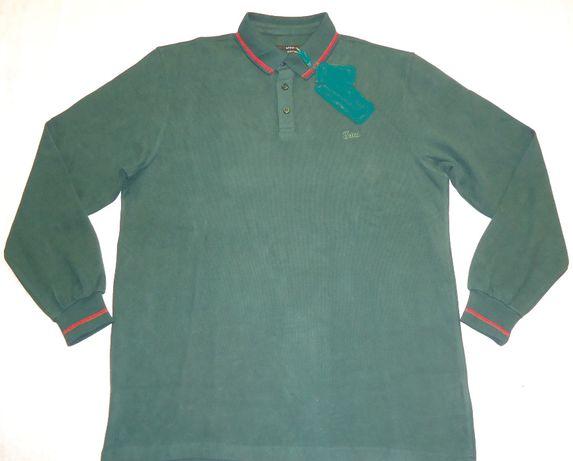 Bluza 5xl barbati groasa guler nasturi 100% bumbac iarna tricou gros