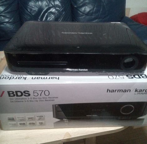 HARMAN KARDON BDS-570 усилвател RECEIVER 5.1 3D BLURAY плейър