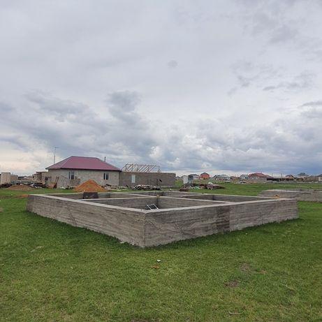 Тайтобе земельный участок с фундаментом