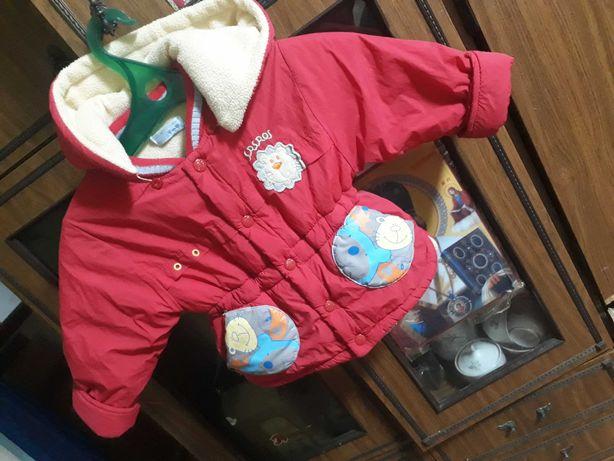 Продам теплую непродуваемую куртку.на 2-3,года.мальчик.