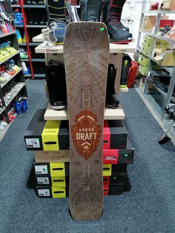Placă snowboard Test Arbor Draft 151 cm