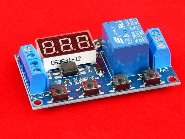 Реле времени таймер XY-J02 От 0.1с до 999 минут для инкубатра и др.