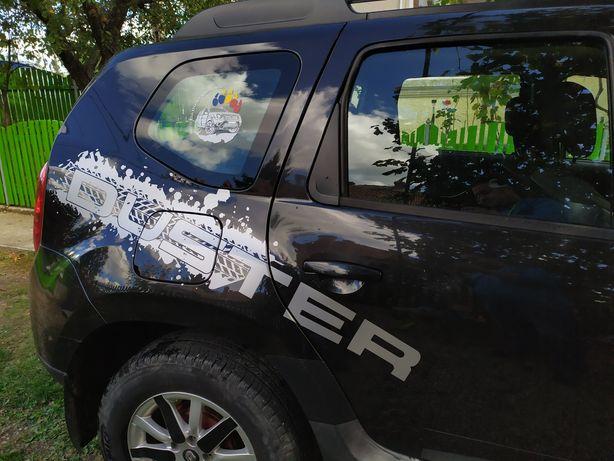 Set autocolant Duster Off-road Adventure