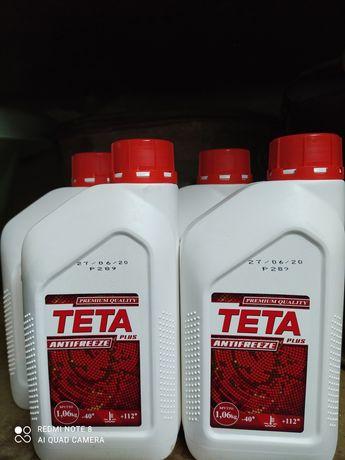 Продам антифриз ТЕТА красный
