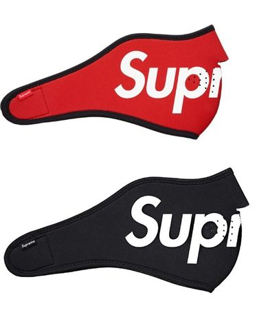 Supreme box logo neoprene snowboard ski face mask маска за лице