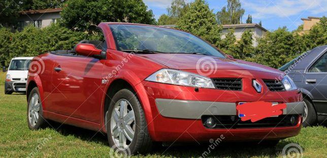 Dezmembrez Renault Megane/ Cabrio piese Renault Megane