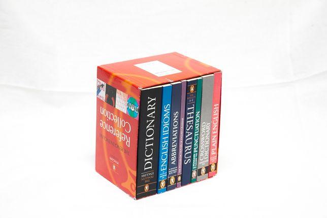 set 8 carti / dictionare limba engleza Penguin books - english reffere