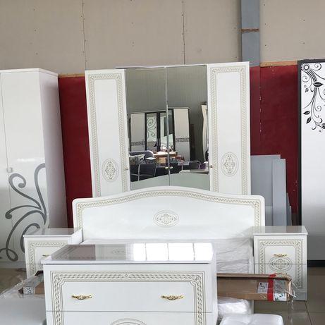 Спальный гарнитур Грация 4 дв мебель со склада