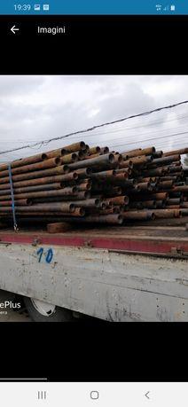 Teava tubing de fii 89 cu 7mm grosime și 9m lungime 300 lei bara
