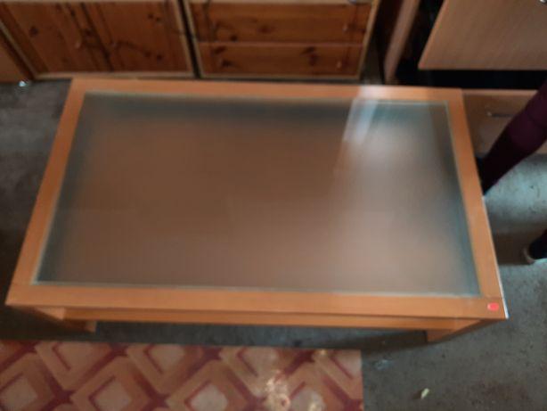 Masă sufragerie cu sticlă
