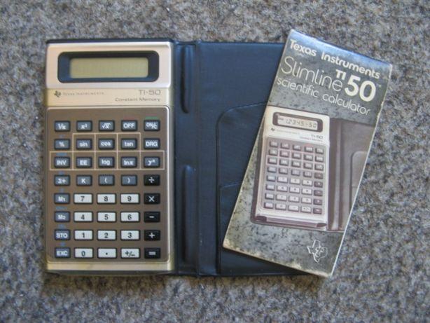 Calculator stiintific texas instruments ti-50 slimline, constant memor