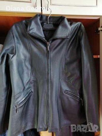 Чисто ново дамско кожено яке