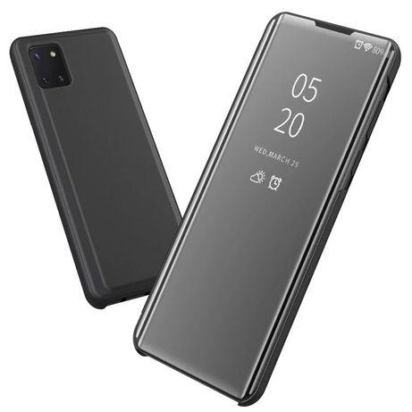 Samsung A41 A21S A51 A71 - Flip Case Clear View Oglinda