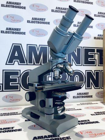 Microscop Biologic LOMO Biolam P-15 cu cap AY-12 Carl Zeiss 1983