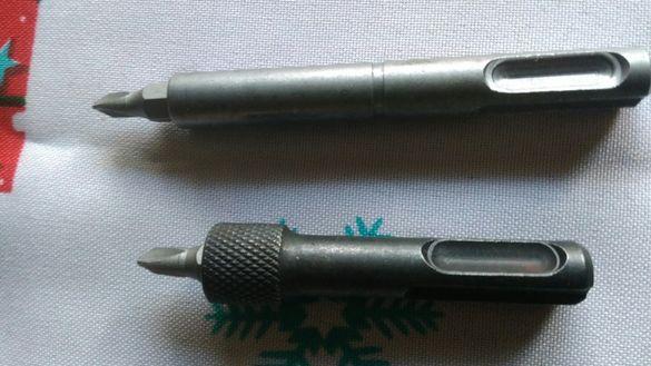 Магнитен адаптор, преходник, накрайник sds plus за битове и накрайници