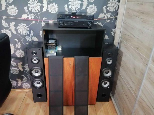 Amplif Pioneer cu Boxe Sony / Statie Audio / Bass / 5.1 / Subwoofer