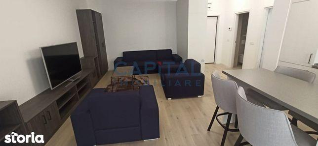 Apartament cu 2 camere semidecomandat  zona  The Office prima inchirie