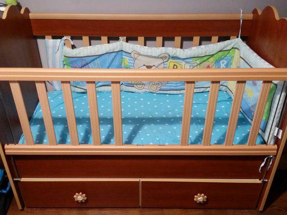 Бебешко легло-люлка кошара
