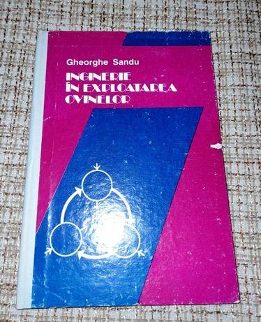 carte Gheorghe Sandu - Inginerie in exploatarea ovinelor