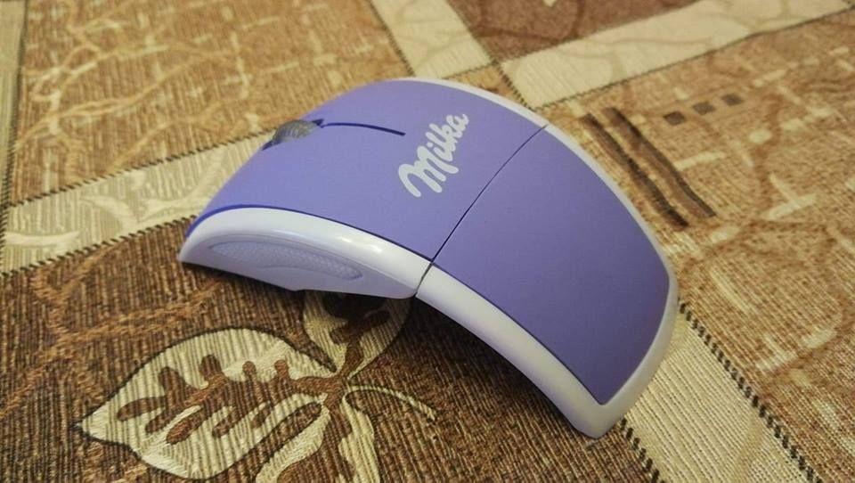 Безжична сгъваема мишка