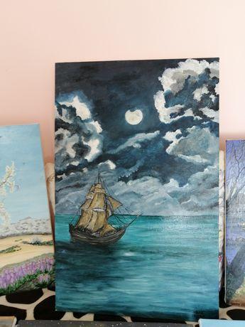 Picturi pe panza