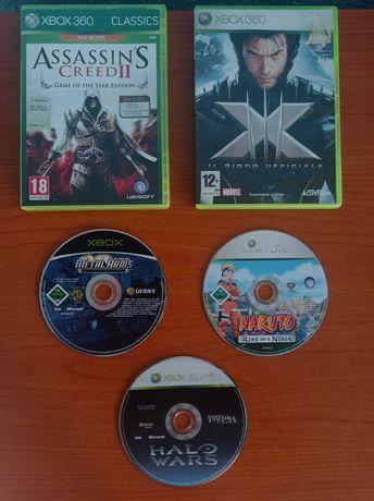 Jocuri Xbox 360, Assassin's Creed 2,X-Men,Halo Wars,Metal Arms,Naruto