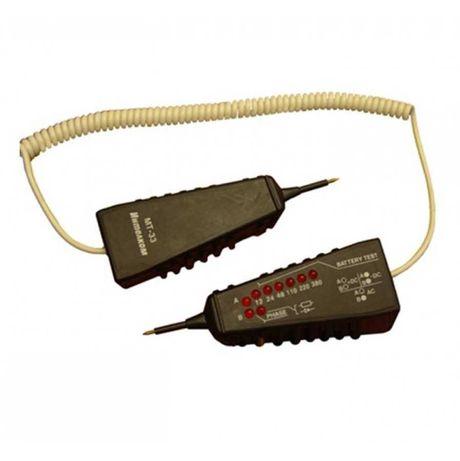 Български тестер на напрежение и верига 6в1 МТ-33 12-380VAC/VDC