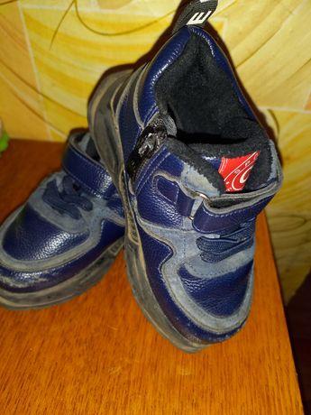 Осень на флисе ботинки