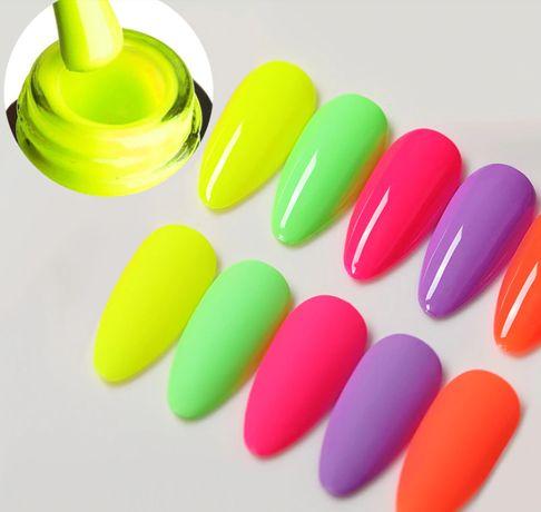 Ново! VENALISA Summer Neon Color / серия неон гел лак!