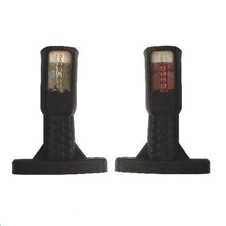 Габарити за камион рогчета LED 24V 3 светлини 2 броя прави