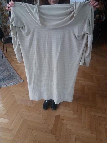 Blazer /cardigan/ jacheta crem/gri mare 50-54