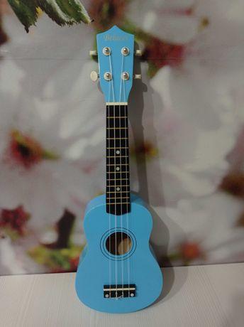 Укулеле Belucci, голубой цвет