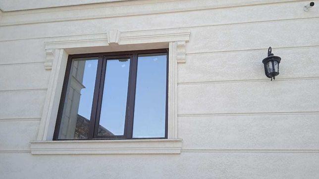 Обрамления окон, наличник, подоконник, углы дома, фасадный декор