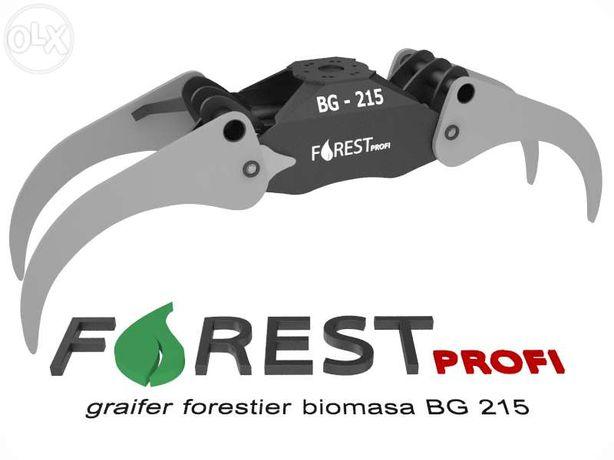 Graifer forestier BG 215 deschidere 2150mm